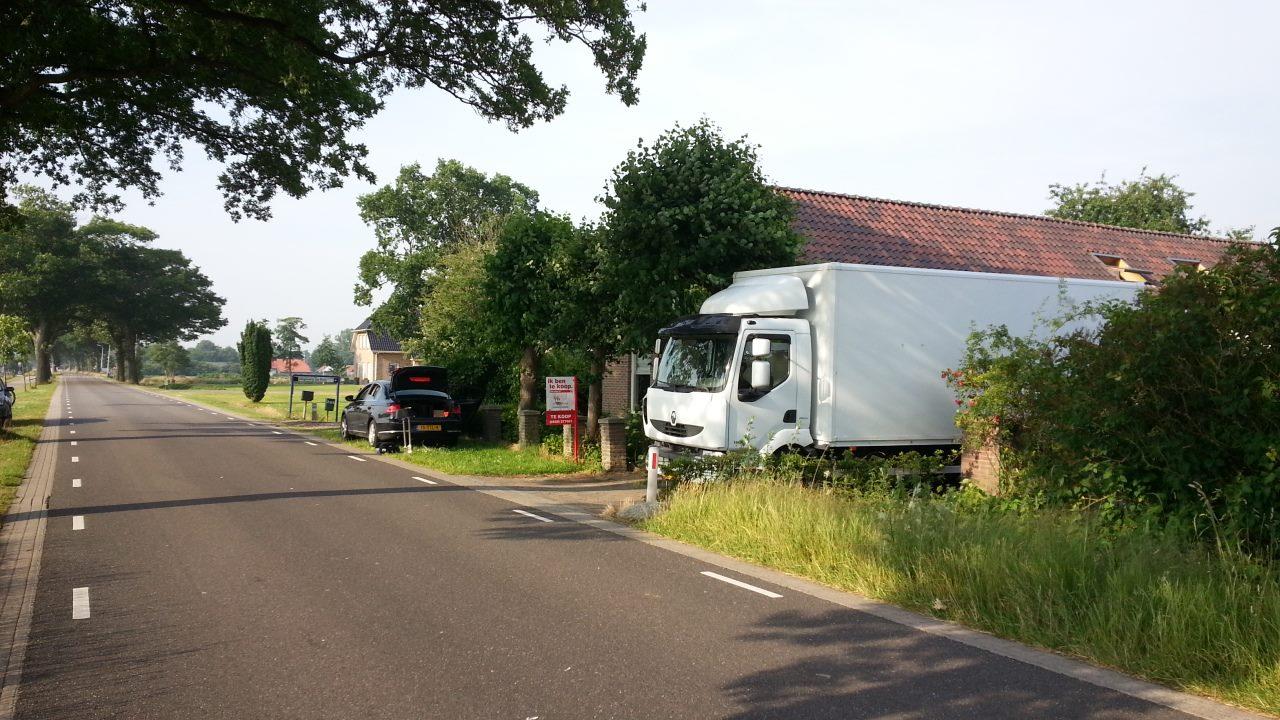 Verhuiswagen huren Hoogeveen Utrecht