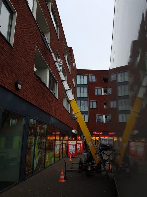 verhuizing met verhuislift in Eindhoven
